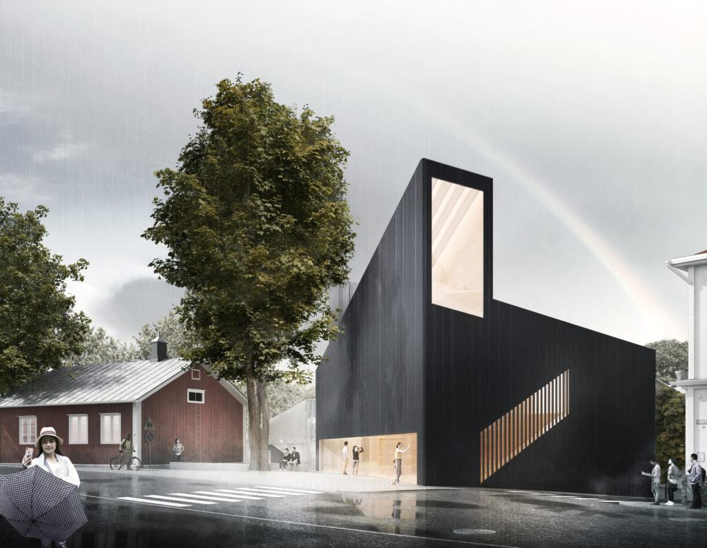 """Projekt Albert -kutsukilpailun voittaja """"Kronan"""", JKMM Arkkitehdit Oy"""