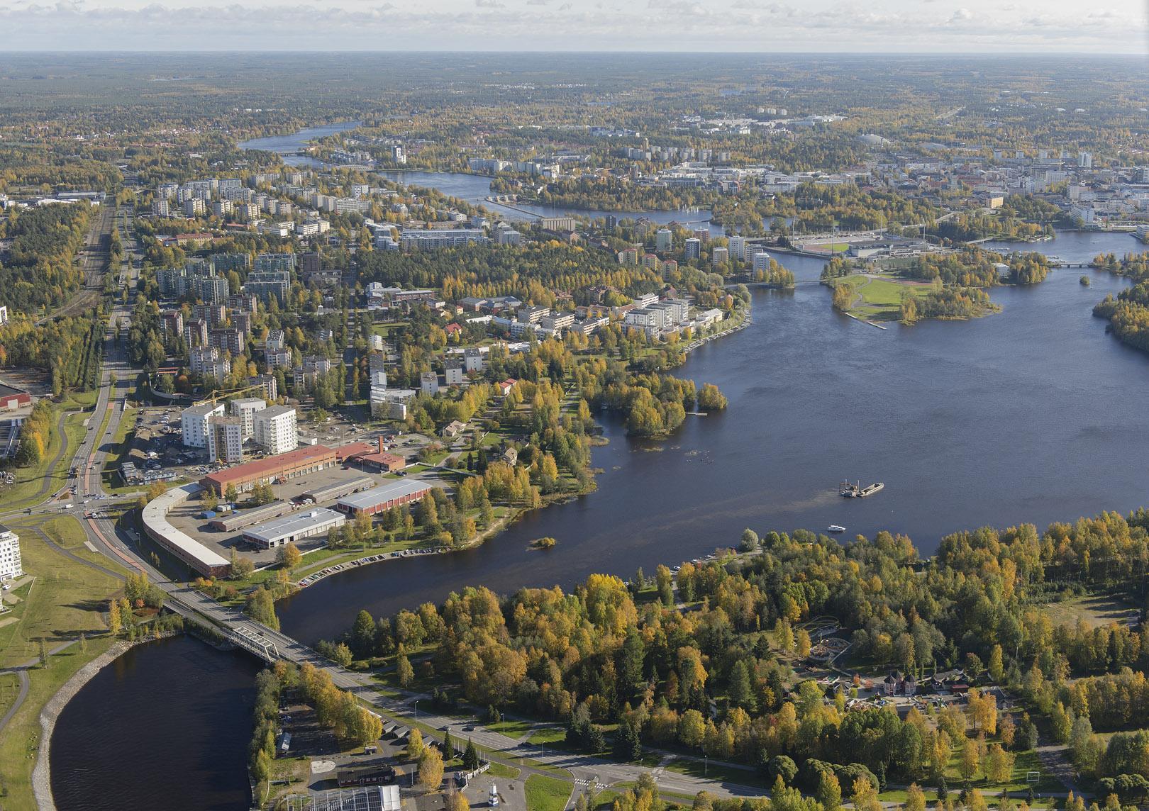 Kutsukilpailu, Oulun Hartaanselänranta, kilpailualue