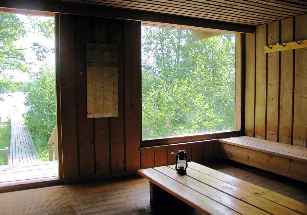 Kiljavan uusi sauna