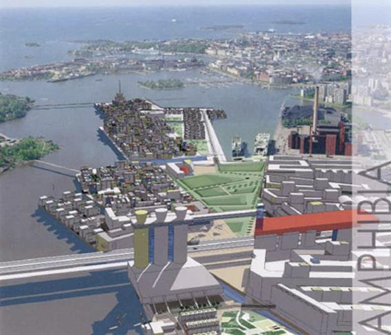 Helsinki Eastern Harbour, 1st prize